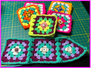 Colorful Crochet Cup Warmers